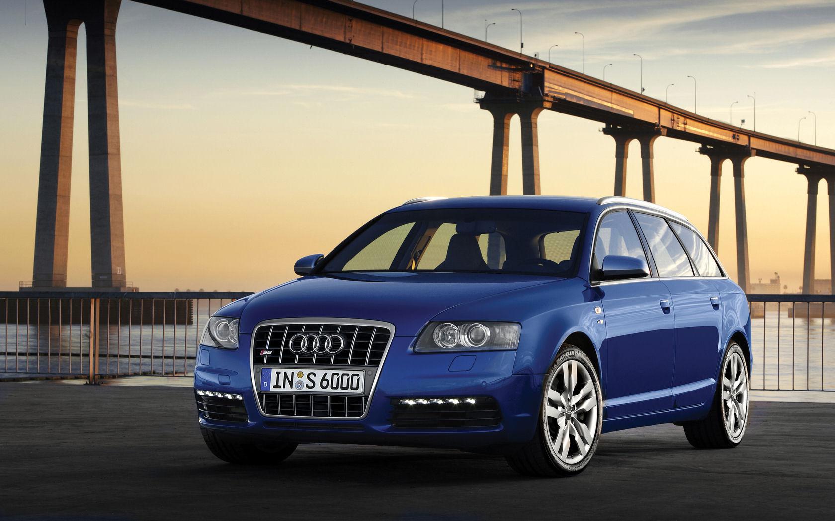 Audi奥迪S6旅行车 1680x1050 桌面壁纸 壁纸大卡 壁纸桌高清图片