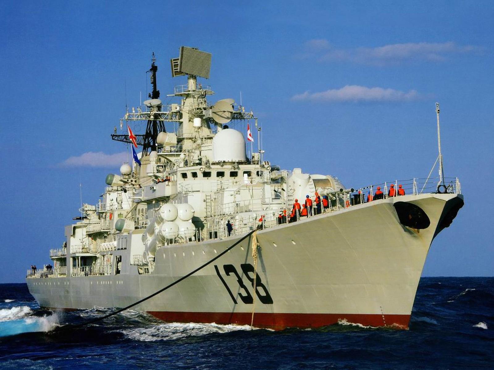 中国军舰高清壁纸