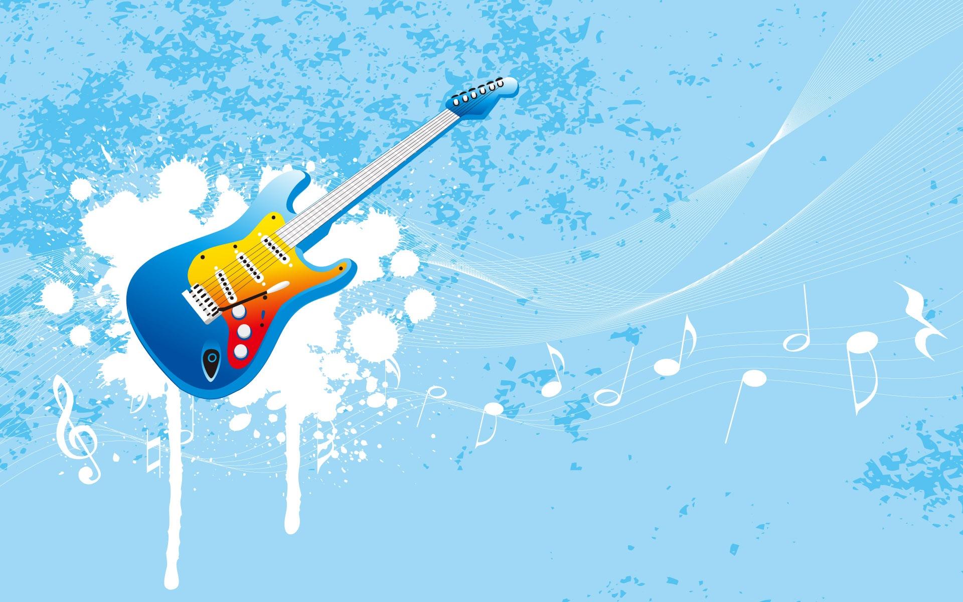 矢量设计-音乐元素(1920x1200)壁纸 - 桌面壁纸【壁纸