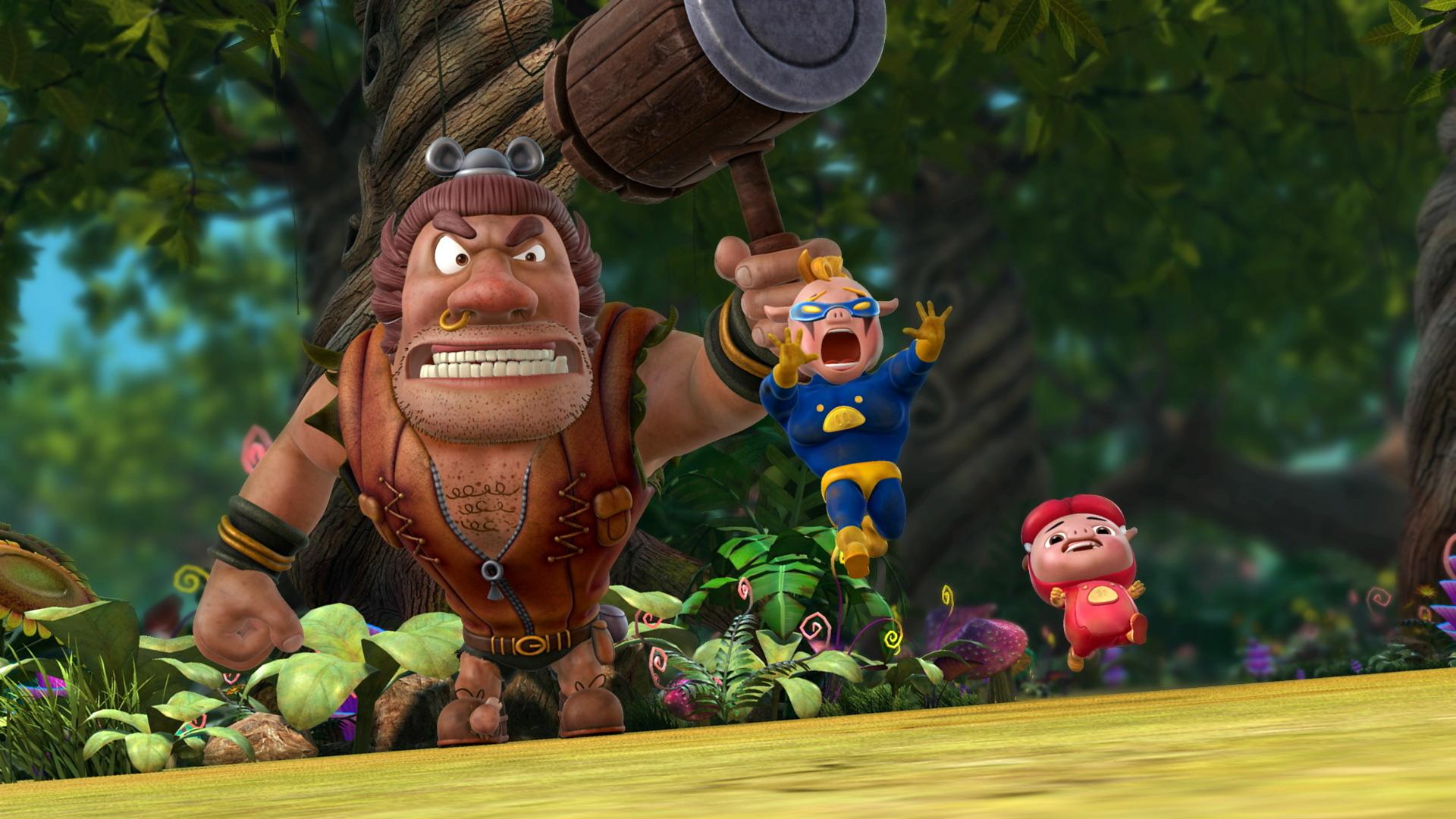 猪猪侠之勇闯巨人岛相关图片_猪猪侠之勇闯巨人岛动画图片