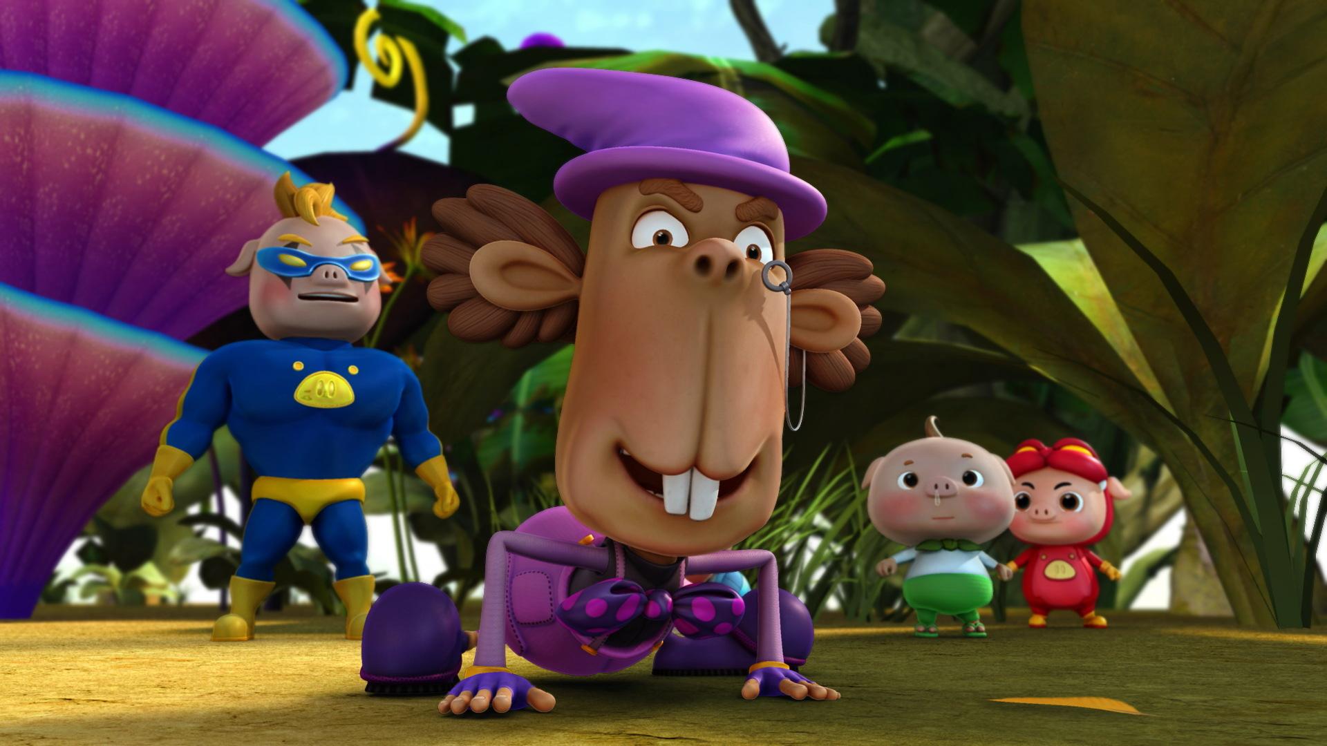 猪猪侠巨人岛_《猪猪侠之勇闯巨人岛》成人与孩子的隐喻