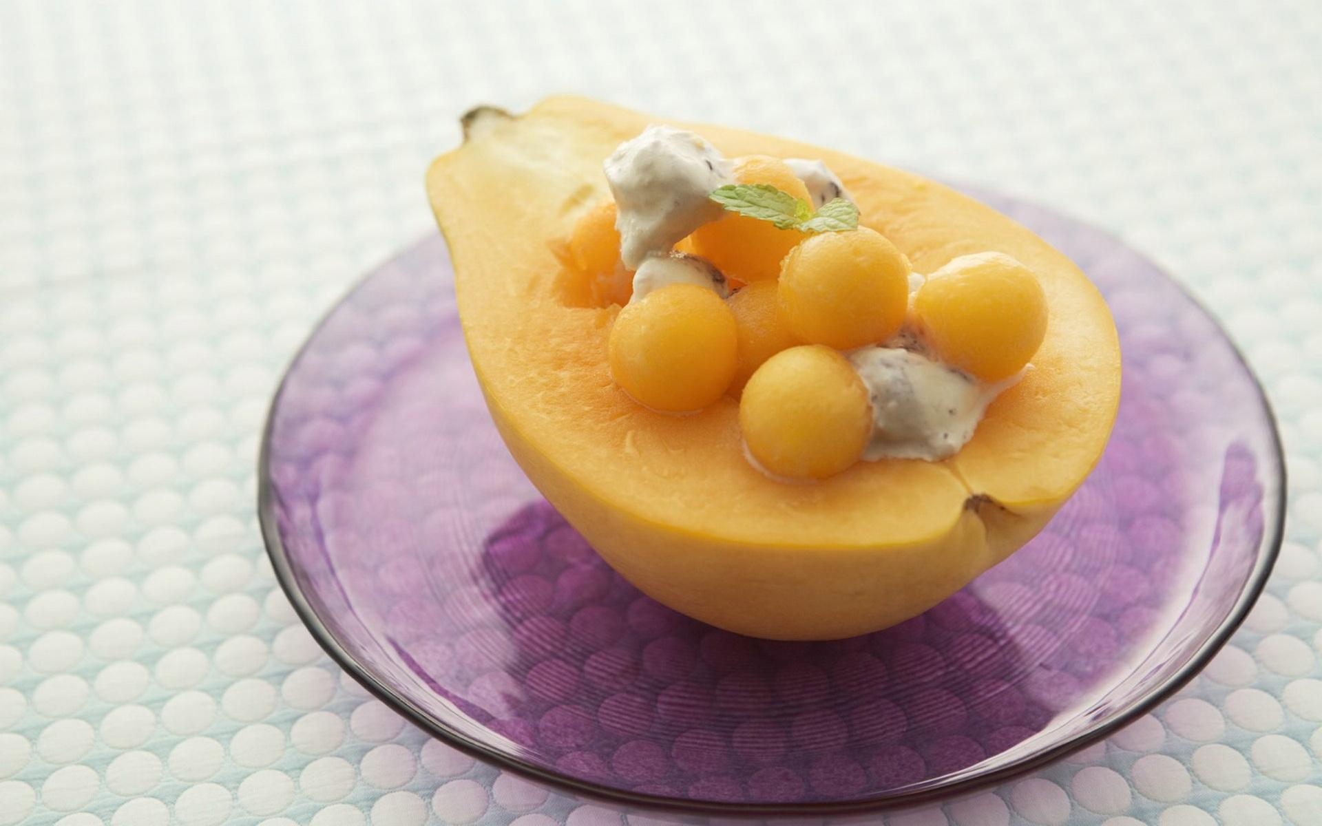 水果拼盘,水果甜点; 水果甜点