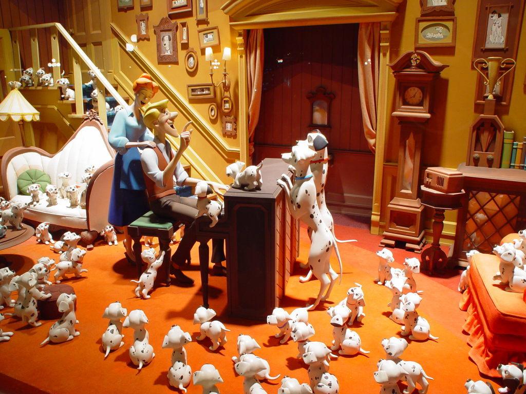 东京迪士尼乐园夜景壁纸
