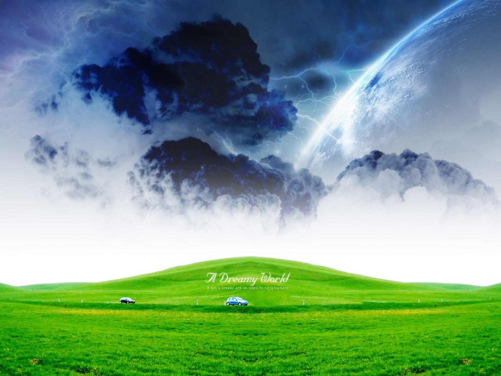 如梦天堂超酷风景2(1600x1200)壁纸 - 桌面壁纸【壁纸