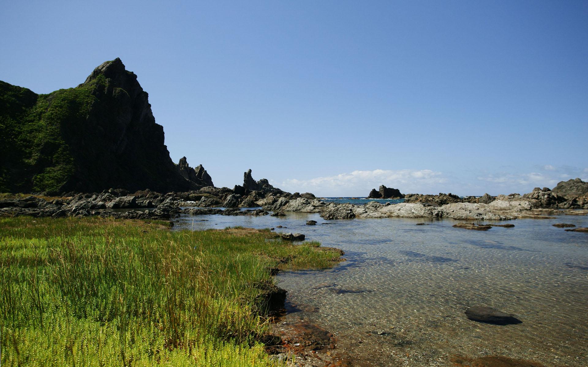 日本风景电脑壁纸_日本山水风景_日本春天风景
