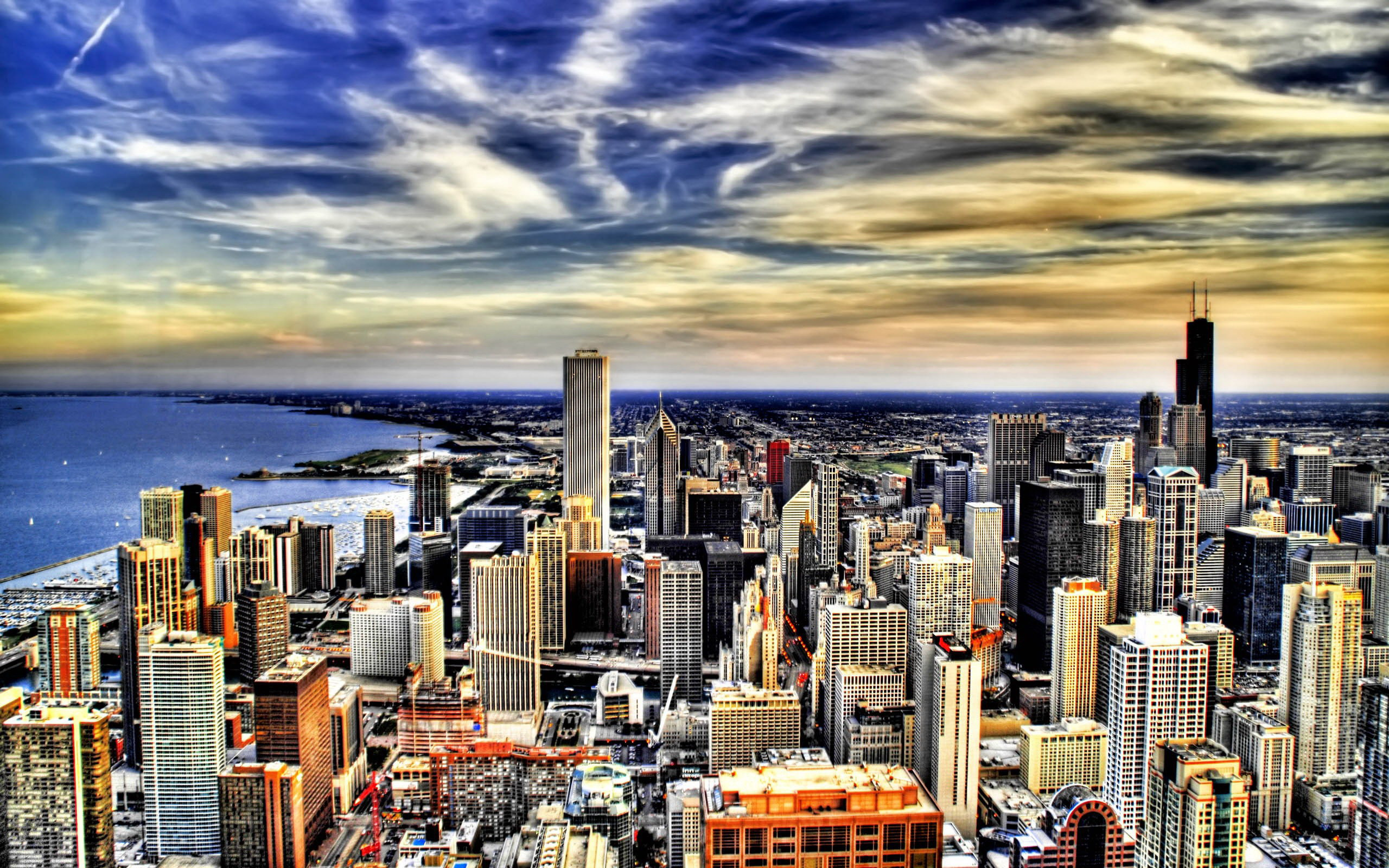 宽屏风景228-现代城市(2560x1600) 壁纸