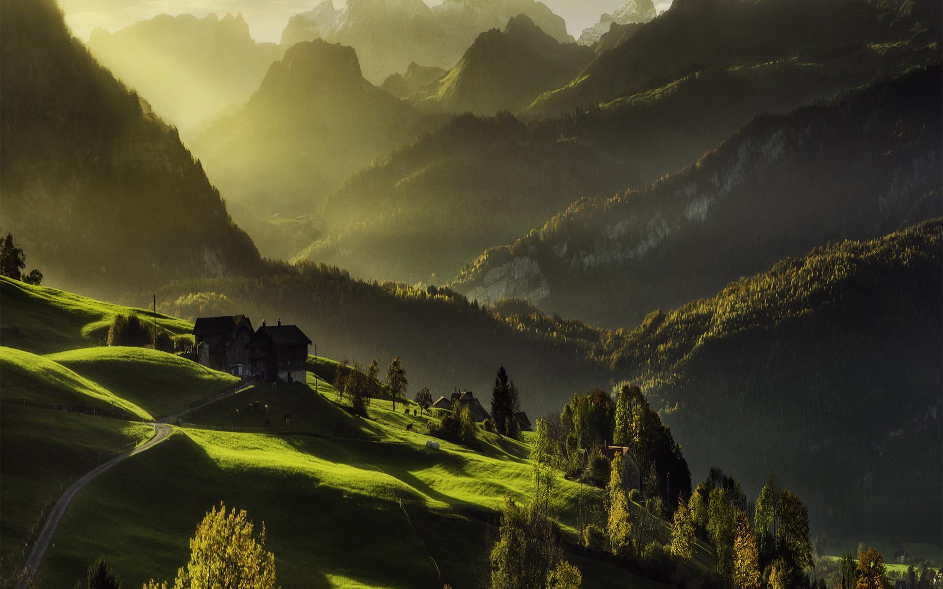 宽屏风景-绿色环保04(1920x1200)壁纸