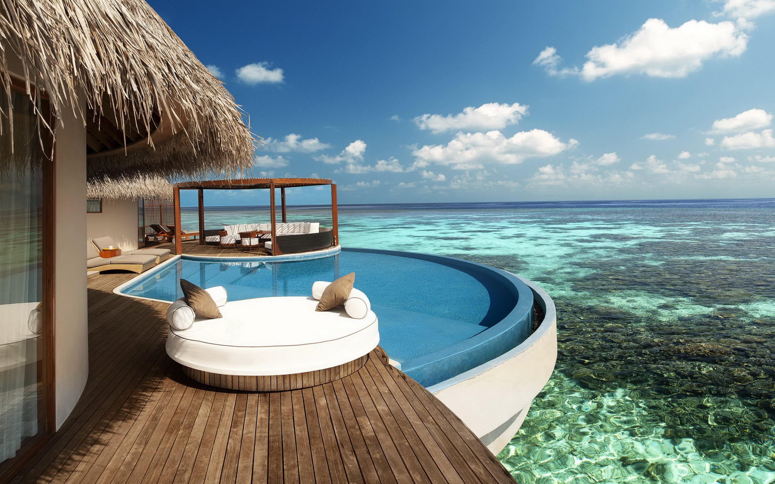 马尔代夫宁静岛;; 满月岛自由行攻略; 马尔代夫 海边风景