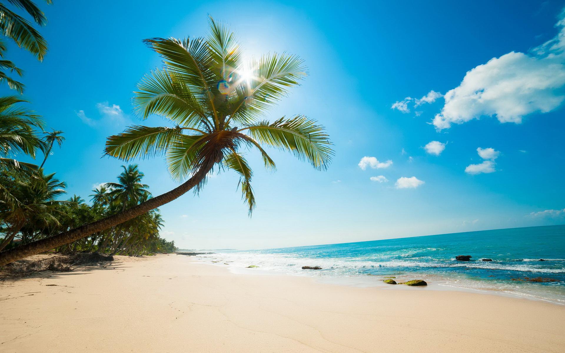 摄影风景-热带海滩02(1920x1200) 壁纸-桌面壁纸海边风景图片