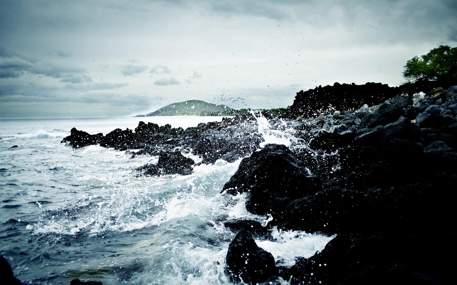 唯美的海边风景壁纸