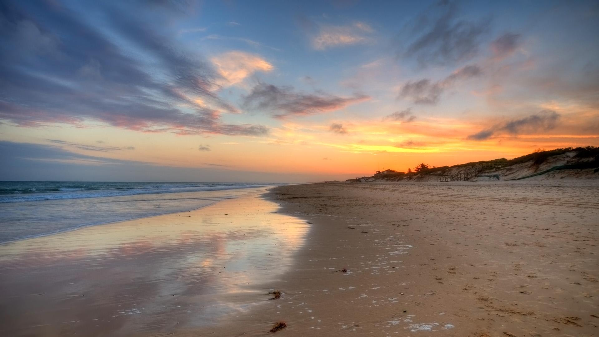 宽屏海滩海岸风景线18(1920x1080)壁纸 - 桌面壁纸