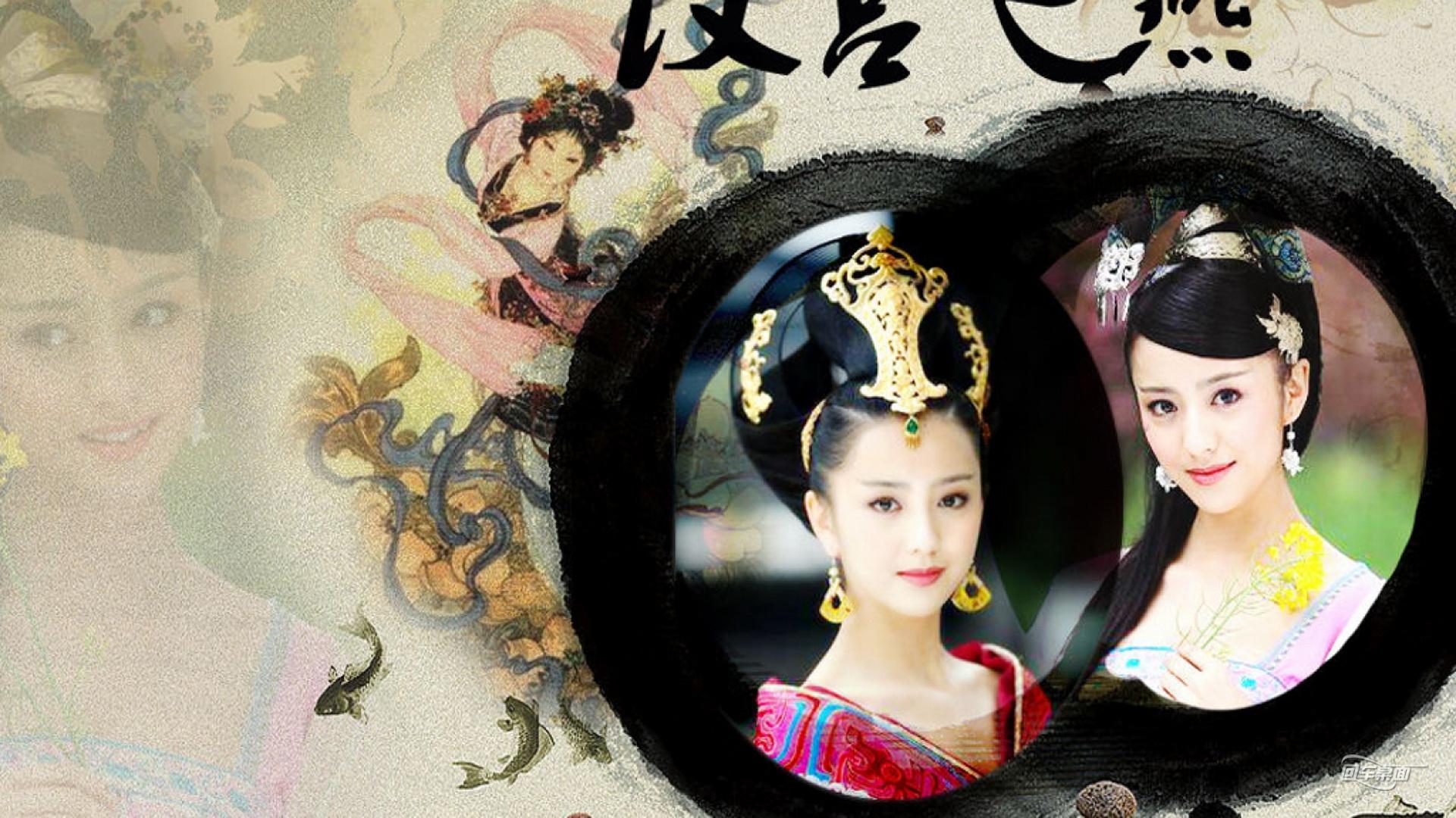 佟丽娅古装剧剧照桌面(1920x1080)壁纸-桌面