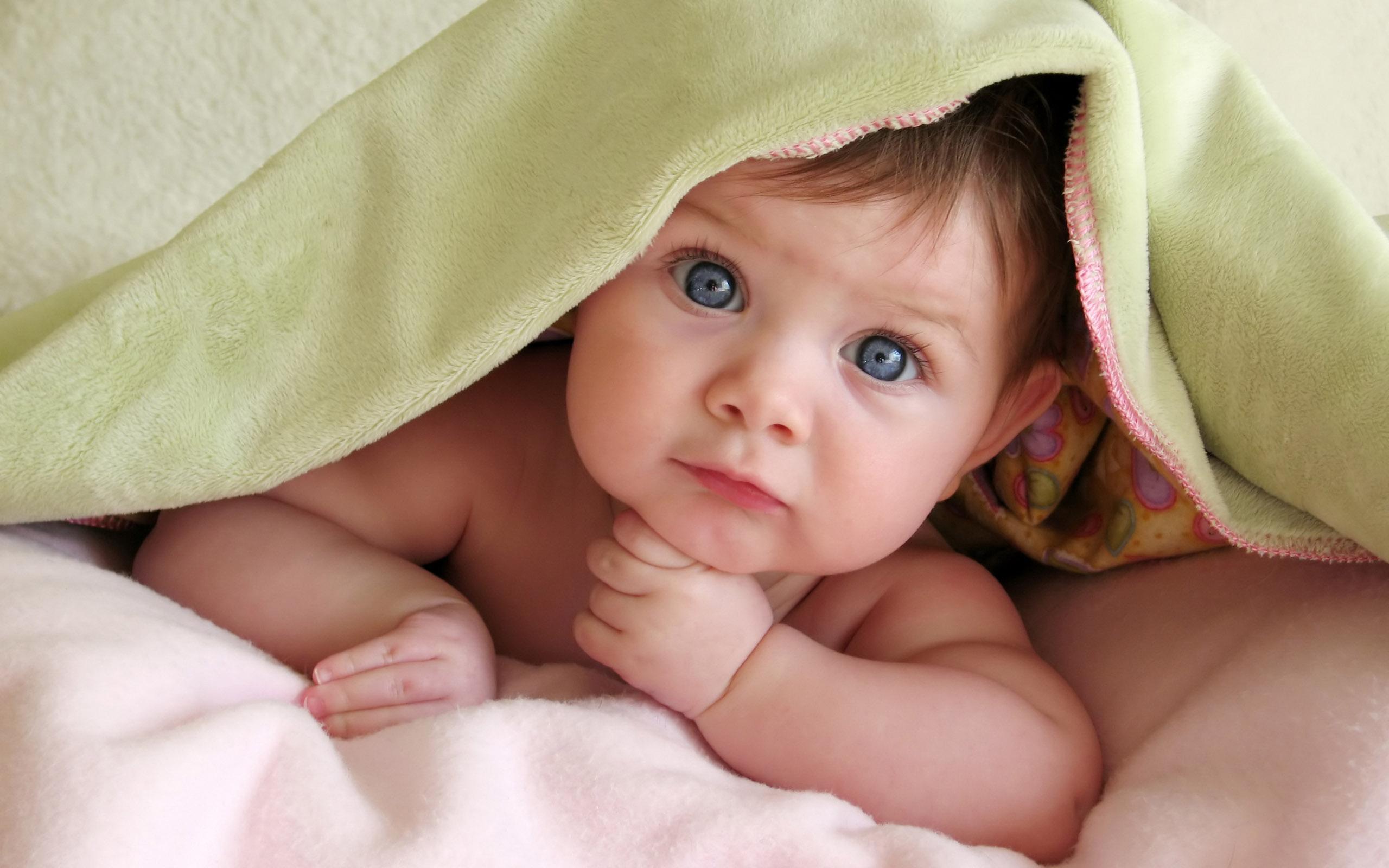 超宽屏可爱的宝宝(2560x1600)壁纸 - 桌面壁纸【壁纸