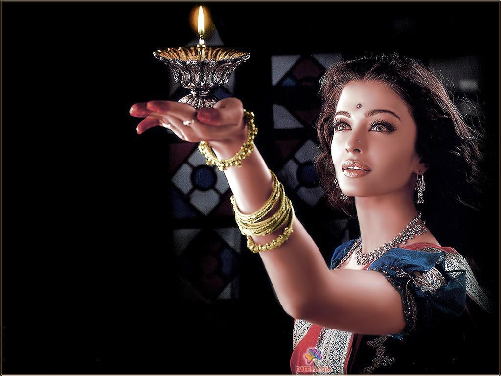 古典神秘的印度绝色美女壁纸